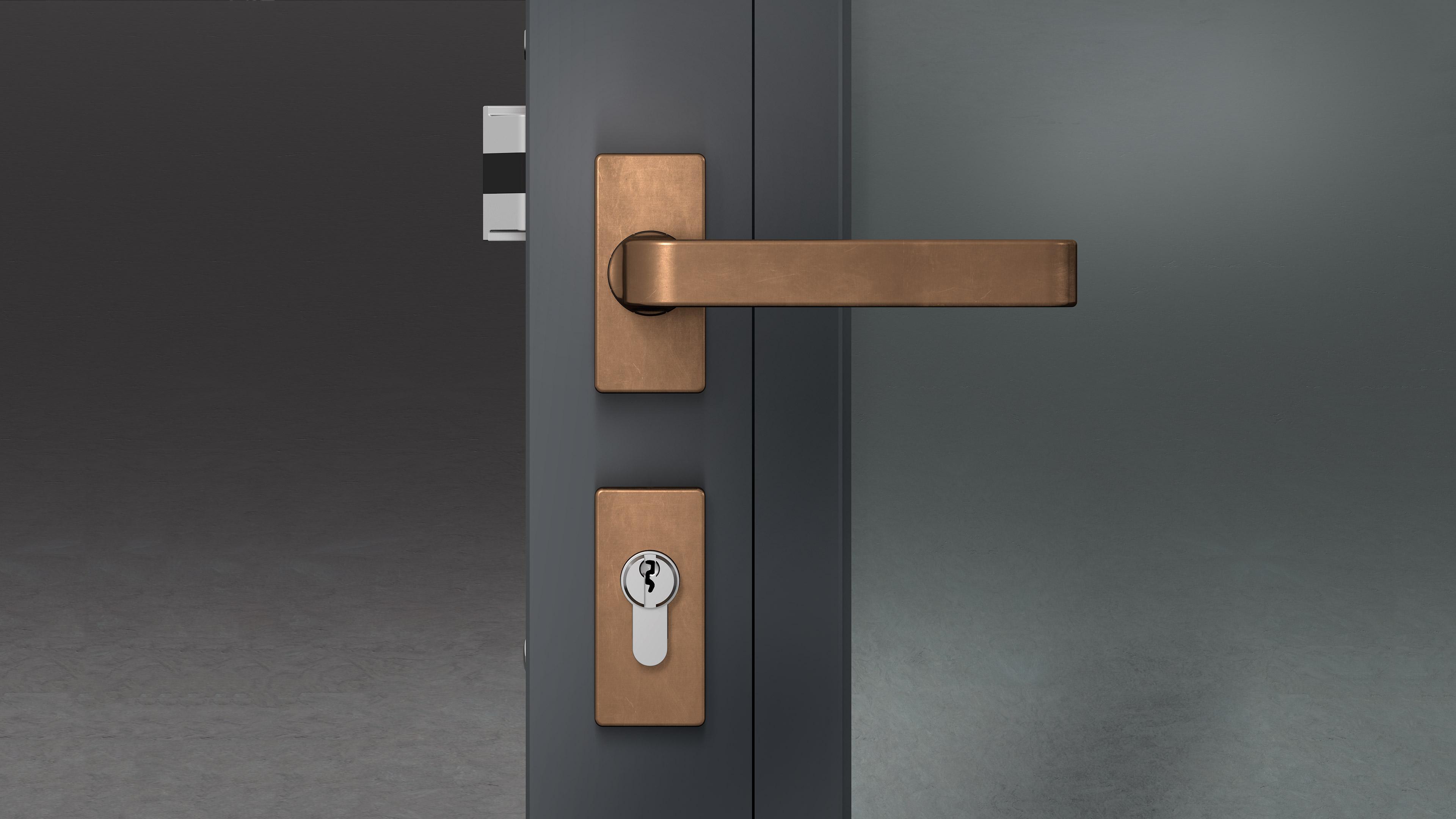 Charmant Narrow Stile Door Hardware